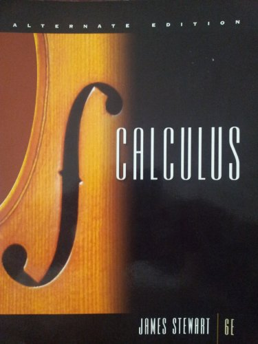 Calculus  6th (Alternate) edition cover