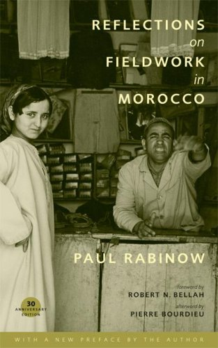 Reflections on Fieldwork in Morocco  2nd 2007 edition cover