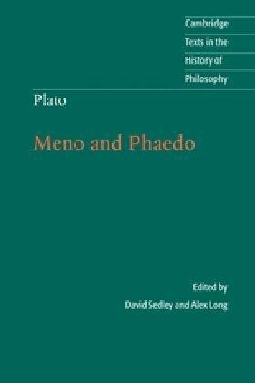 Plato Meno and Phaedo  2010 9780521676779 Front Cover