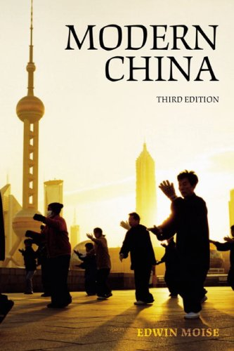 Modern China  3rd 2008 (Revised) edition cover