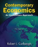 Contemporary Economics An Applications Approach 7th 2014 (Revised) edition cover