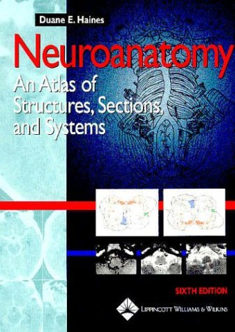 Neuroanatomy An Atlas of Structures, Sections, and Systems 6th 2004 (Revised) edition cover