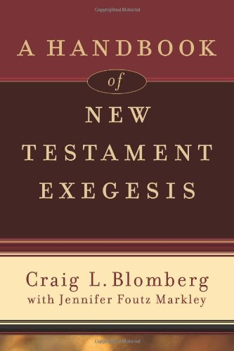 Handbook of New Testament Exegesis   2010 edition cover