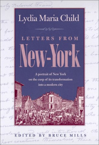 Letters from New-York   1999 9780820320779 Front Cover