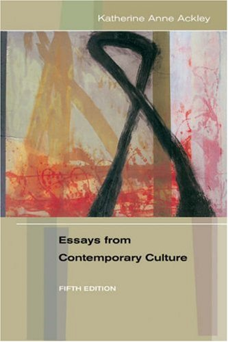 Essays from Contemporary Culture  5th 2004 (Revised) edition cover