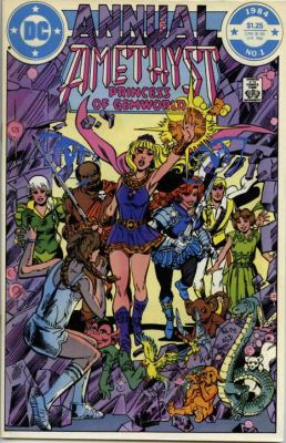 Showcase Presents: Amethyst, Princess of Gemworld Vol. 1  N/A 9781401236779 Front Cover