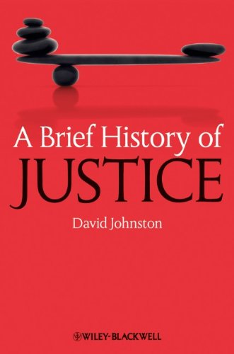 Brief History of Justice   2011 9781405155779 Front Cover