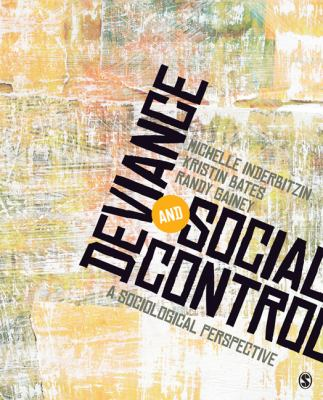 Deviance and Social Control A Sociological Perspective  2013 edition cover