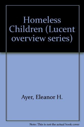 Homeless Children  1997 (Revised) 9781560061779 Front Cover