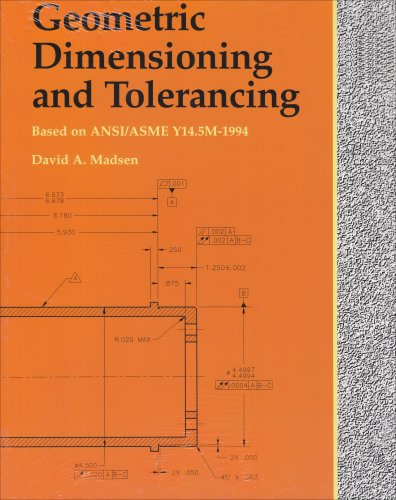 Geometric Dimensioning and Tolerancing   2003 9781566379779 Front Cover