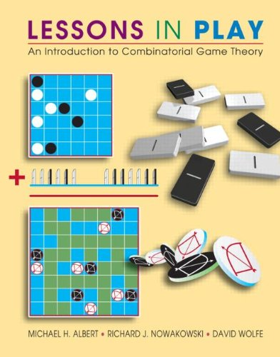 Lessons in Play An Introduction to Combinatorial Game Theory  2007 edition cover