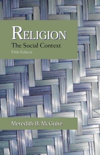Religion The Social Context 5th edition cover