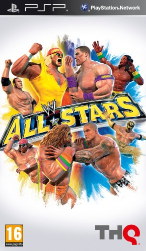 WWE All Stars (PSP) Sony PSP artwork