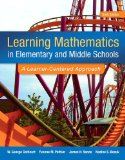 Learning Mathematics in Elementary and Middle School A Learner-Centered Approach 6th 2015 edition cover