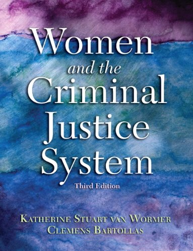 Women and the Criminal Justice System  3rd 2011 edition cover