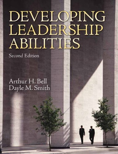 Developing Leadership Abilities  2nd 2010 edition cover