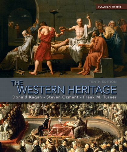 Western Heritage to 1563  10th 2010 edition cover
