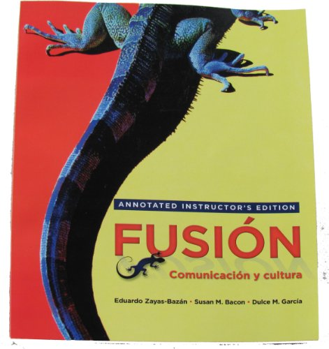 FUSION:COMUNICACION Y...>ANNOT N/A 9780205756780 Front Cover