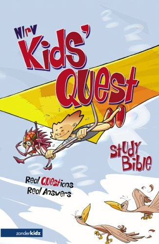Kids' Quest Study Bible Answers to over 500 Questions about the Bible  2005 (Revised) edition cover