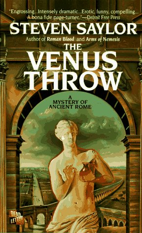 Venus Throw A Mystery of Ancient Rome Reprint 9780312957780 Front Cover