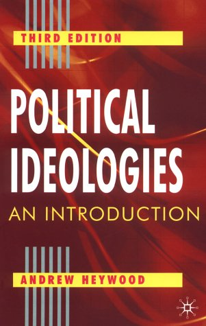 Political Ideologies An Introduction 3rd 2003 (Revised) 9780333961780 Front Cover