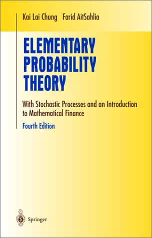 Elementary Probability Theory With Stochastic Processes and an Introduction to Mathematical Finance 4th 2003 (Revised) edition cover