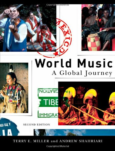 World Music A Global Journey 2nd 2008 (Revised) edition cover