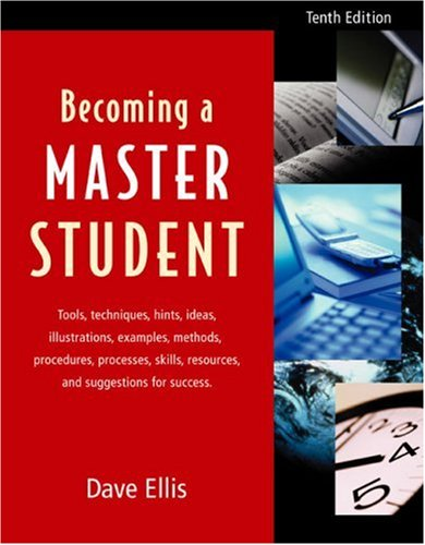 Becoming a Master Student 10th 2003 edition cover