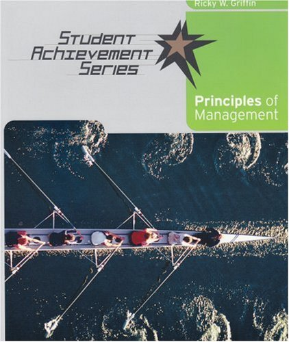 Principles of Management   2007 9780618730780 Front Cover