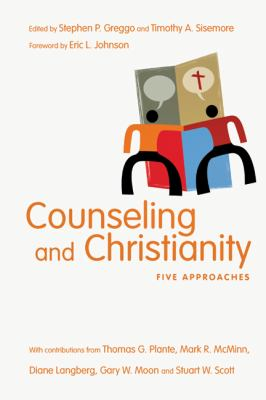 Counseling and Christianity Five Approaches  2012 edition cover