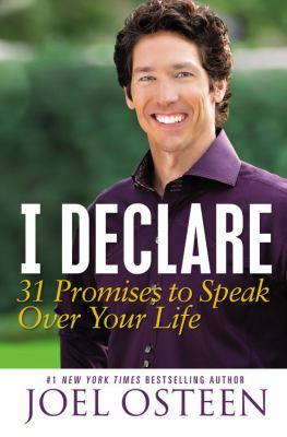 I Declare 31 Promises to Speak over Your Life  2012 edition cover