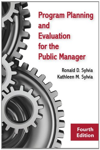 Program Planning and Evaluation for the Public Manager  4th 2012 edition cover