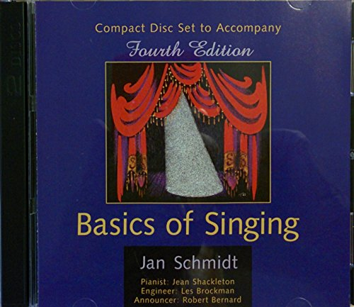 Basics of Singing 4th 1998 (Supplement) edition cover