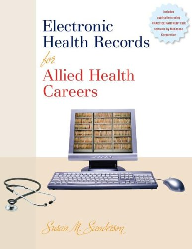 Electronic Health Records for Allied Health Careers   2009 edition cover