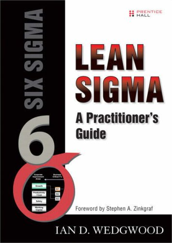 Lean SIGMA A Practitioner's Guide  2007 edition cover