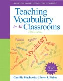 Teaching Vocabulary in All Classrooms  5th 2015 edition cover