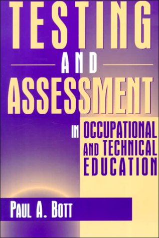 Testing and Assessment in Occupational and Technical Education   1996 edition cover