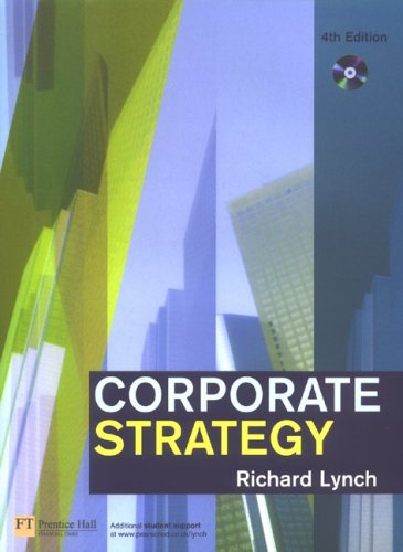 Corporate Strategy  4th 2006 (Revised) 9780273701781 Front Cover