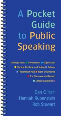 Pocket Guide to Public Speaking  2004 edition cover