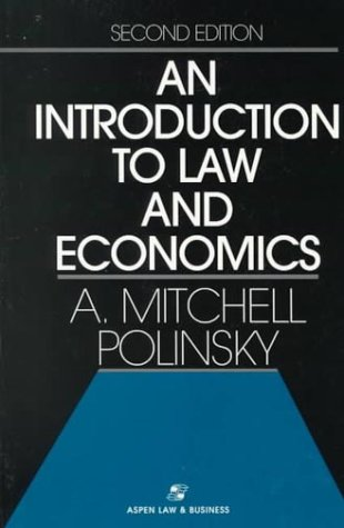Introduction to Law and Economics  2nd (Revised) 9780316712781 Front Cover