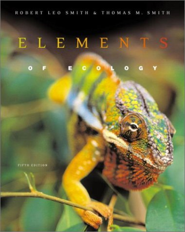 Elements of Ecology  5th 2003 9780321068781 Front Cover