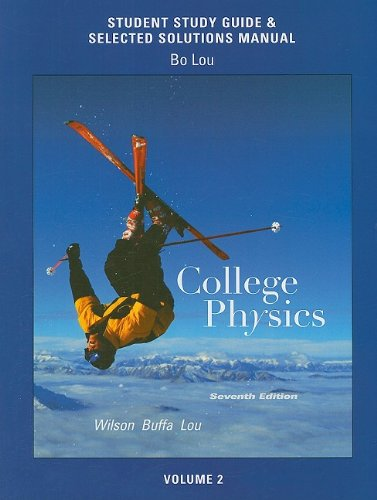 College Physics  7th 2010 (Guide (Pupil's)) edition cover