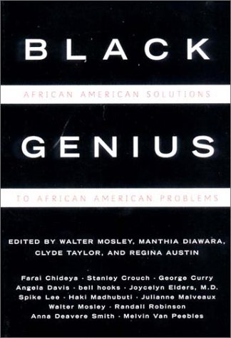 Black Genius African American Solutions to African American Problems  2000 edition cover