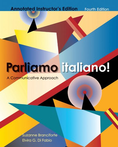 Parliamo Italiano! A Communicative Approach 4th (Annotated) edition cover