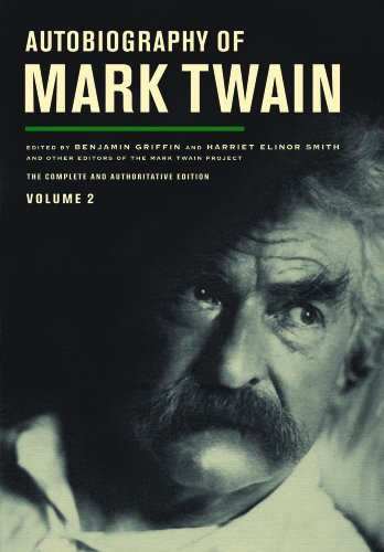 Autobiography of Mark Twain   2013 edition cover