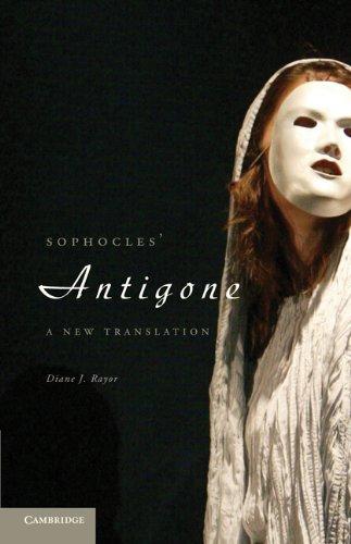 Sophocles' Antigone A New Translation  2011 edition cover