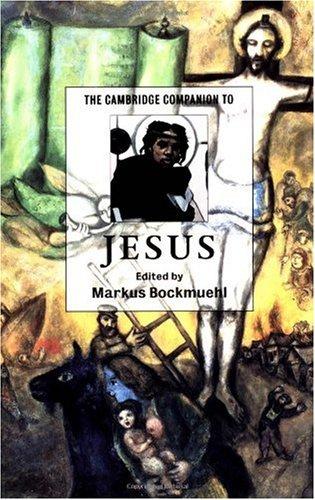 Cambridge Companion to Jesus   2001 edition cover