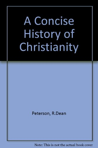 Concise History of Christianity  1st 1993 edition cover