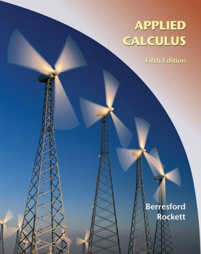 Applied Calculus  5th 2010 9780547169781 Front Cover
