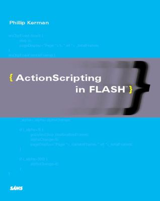 ActionScripting in Flash   2001 9780672320781 Front Cover
